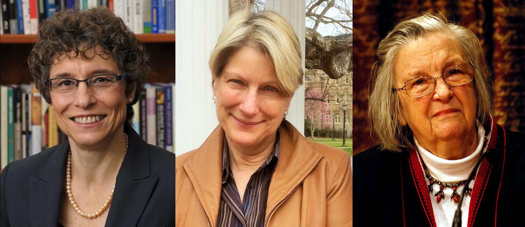 Left to right: AnnaLee Saxenian, Maryann Feldman, Elinor Ostrom