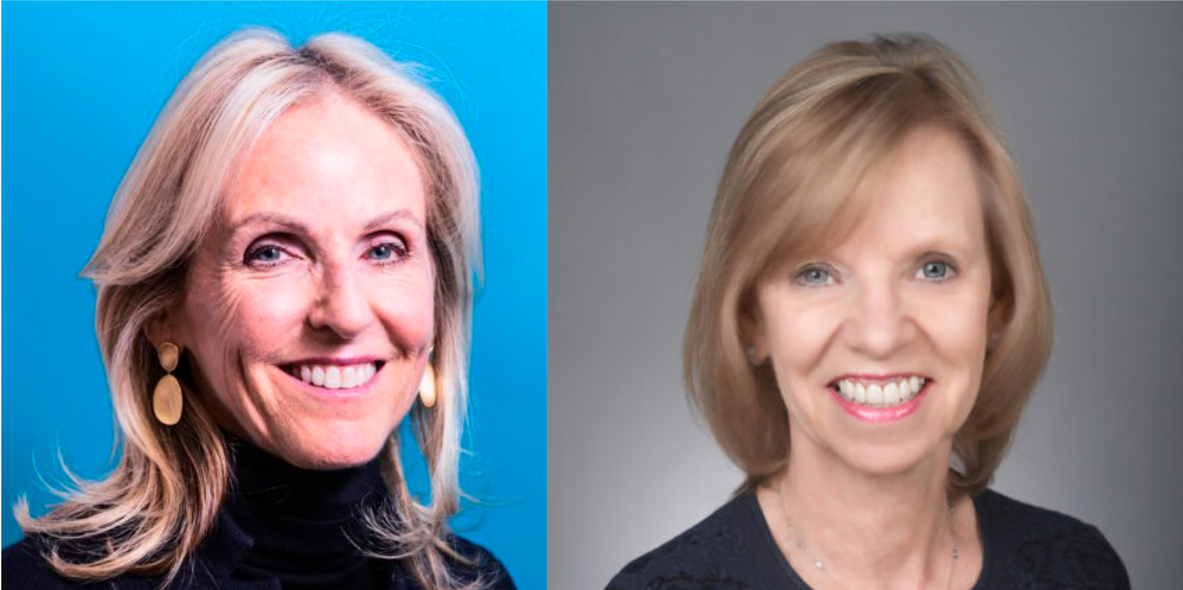 Ann Lamont (L) and Ann Winblad (R)