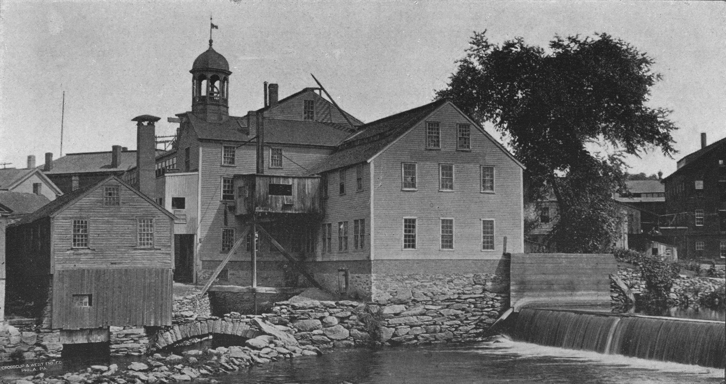 The Old Slater Mill in Pawtucket, Rhode Island, founded in 1793 by Samuel Slater (an entrepreneur) and Moses Brown (an industrialist and investor). Their partnership brought the Industrial Revolution to America, and their agreement (detailed in the book), contained many similar elements as modern-day venture capital term sheets.