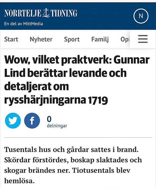 WOW! Läs #norrtäljetidning! #bokrecension #1719 #brändahemman
