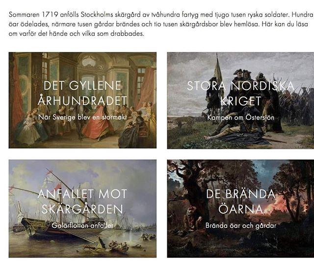 Premiär! Den digitala utställningen 1719.se finns nu tillgänglig! Och i museet Hamnen, Nacka kan ni se mer live!