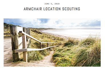 Armchair location scouting - Plan your next trip from the comfort of your own home.
