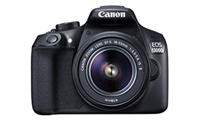 Best DSLR for beginners: Canon 1300D with 18-55mm lens (£400) - for bonus points buy the 50mm lens as well (it has a wider max aperture)