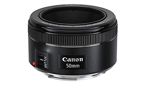 To go with the 1300D: a less frustrating lens than the kit lens shipped with the camera. (£100)