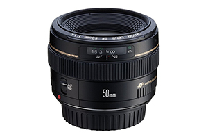 50mm f1.4 lens - the next level up from the beginner's 50 1.8 lens above. Buy this instead of the kit lens, if the photographer is serious about wanting to learn photography rather than take snaps (£340)