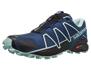 Hiking shoes. Not waterproof, and not a substitute for hiking boots in extreme weather, but a good walking shoe in clement weather. (From £75)