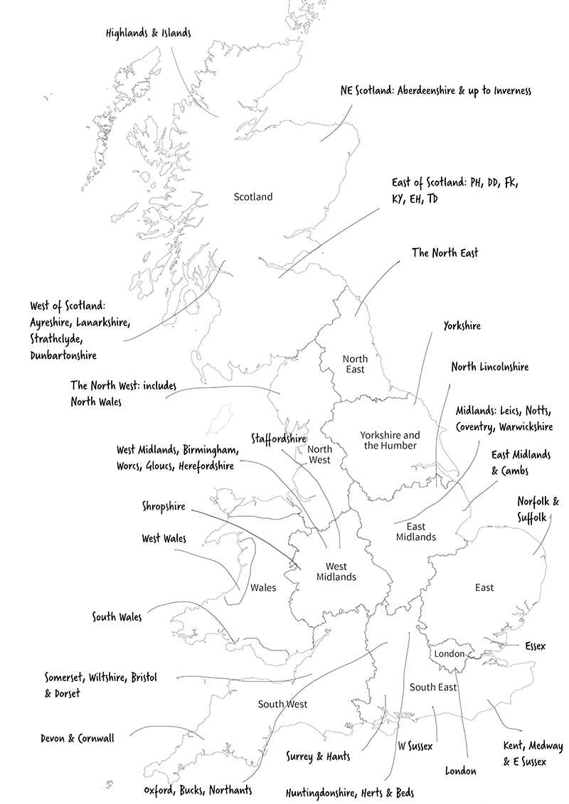 Map from the OS, with permission