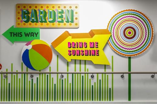 Super colourful signage