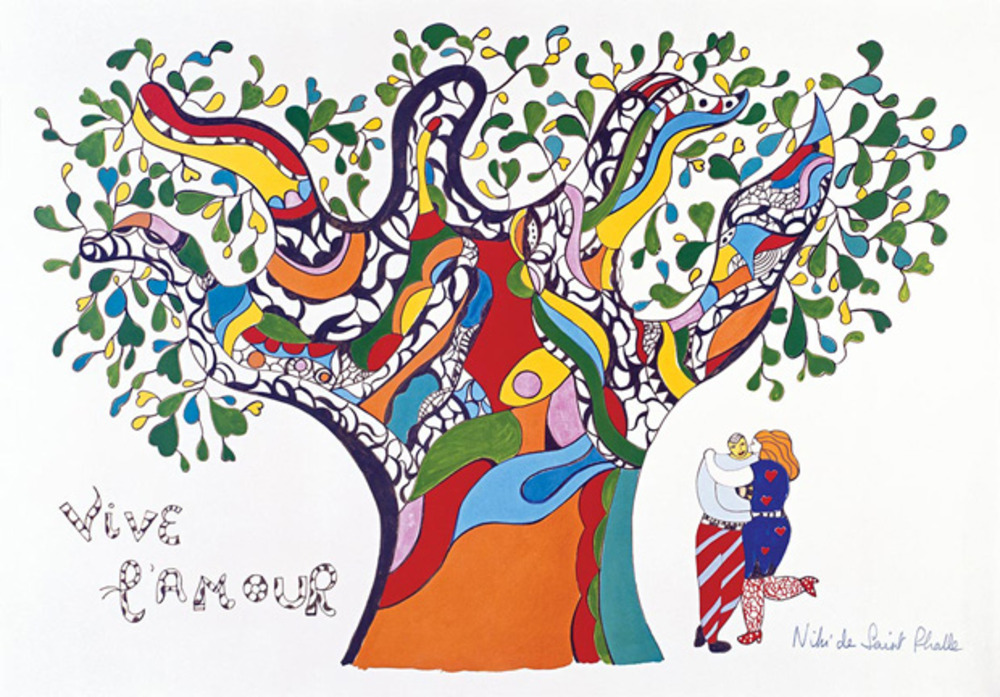 Long Live Love (Vive l'Amour) (1990), Niki de Saint Phalle © Niki Charitable Art Foudation, Santee, USA .Photo: © Ed Kessler