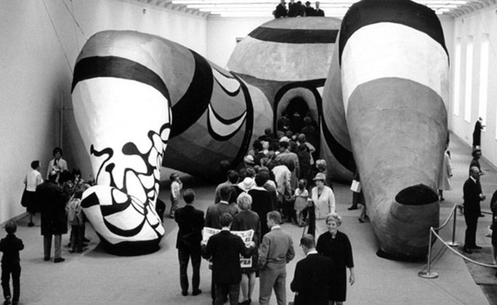 """Hon"" Moderna Museet, Stockholm, summer 1966"