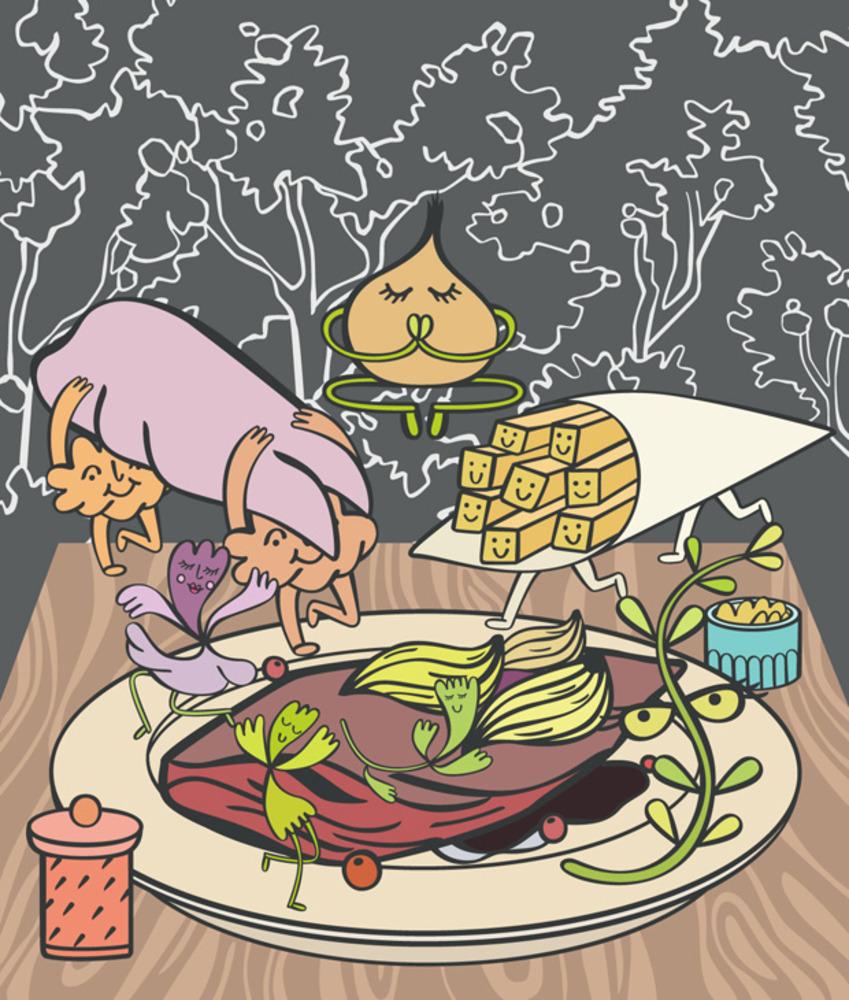 Artwork for restaurant review of L'essentiel