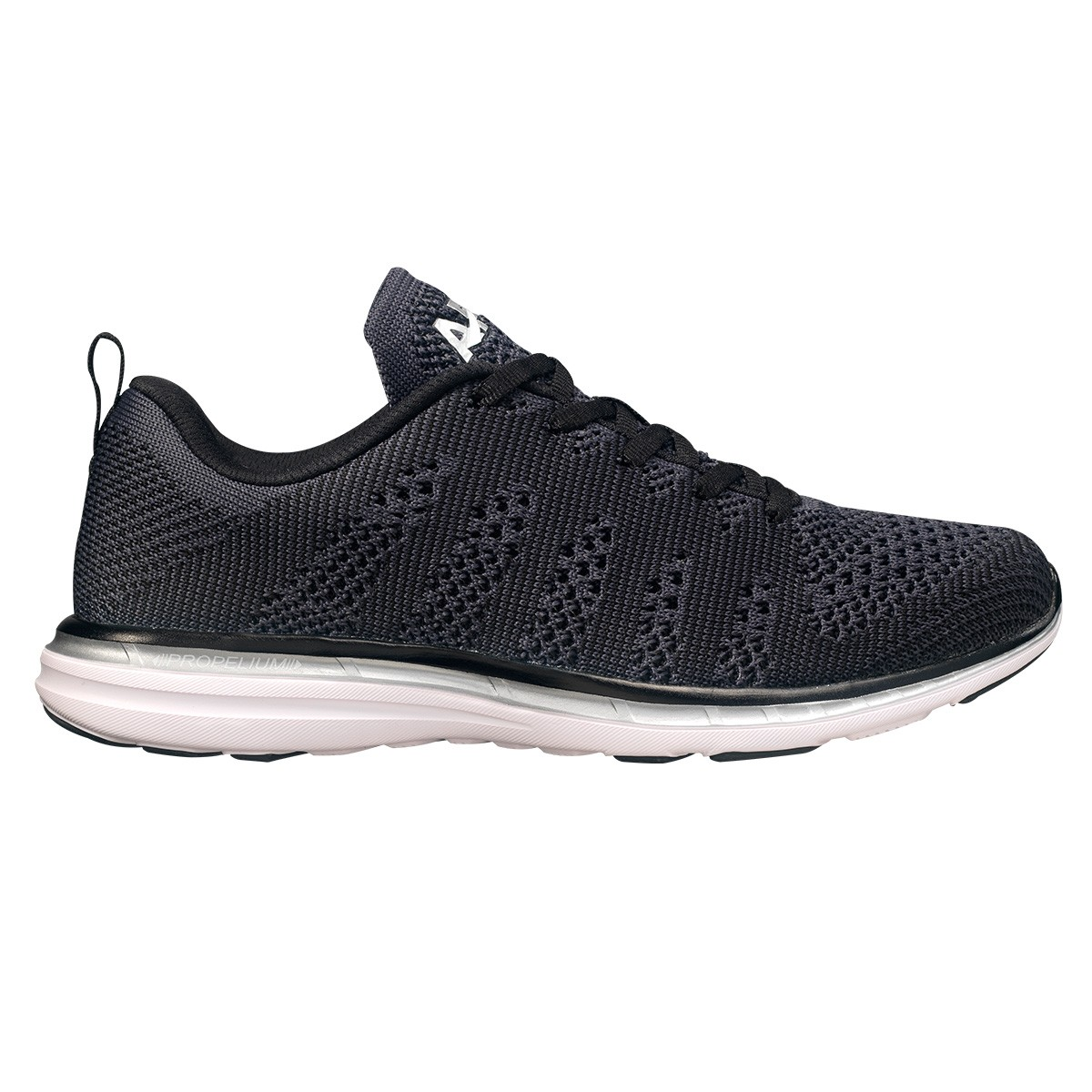 APL Women's Techloom Pro Black/Metallic Silver — $140
