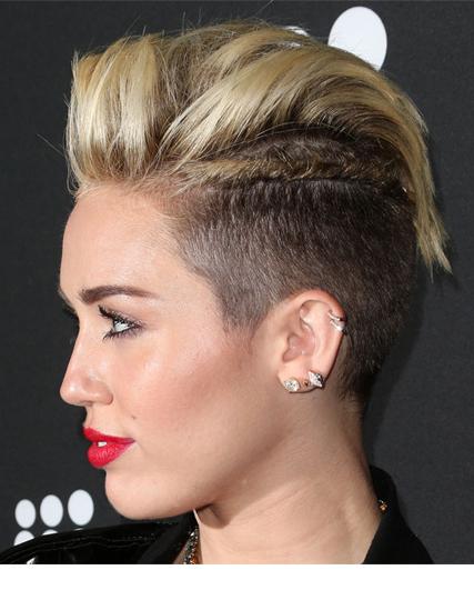 Miley Cyrus   pixie twist
