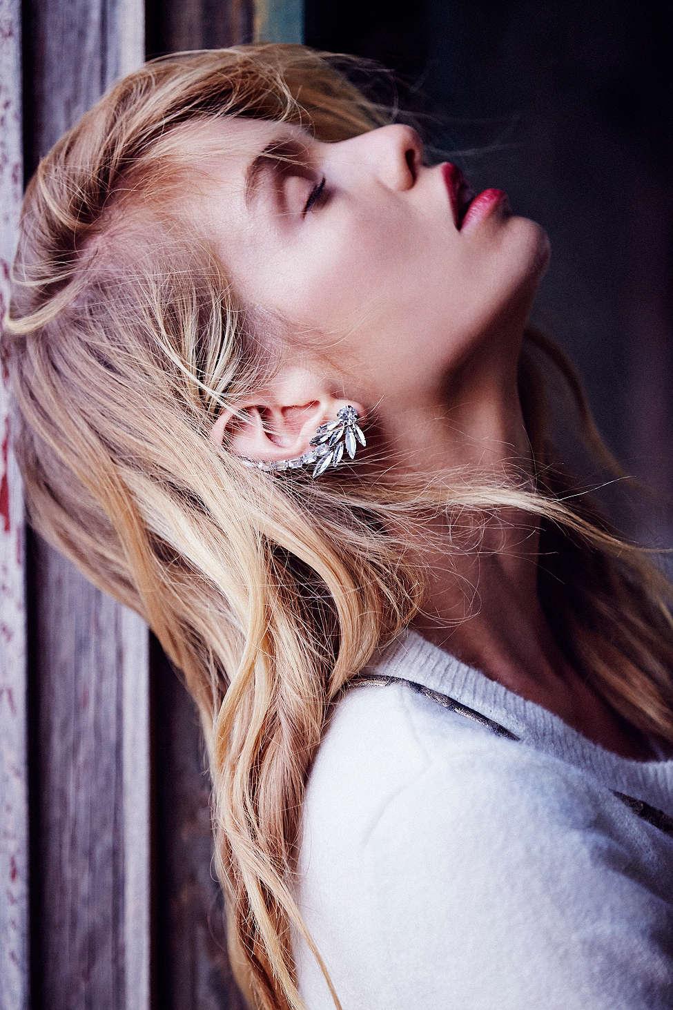 Amber Sceats Crystallite Ear Cuff
