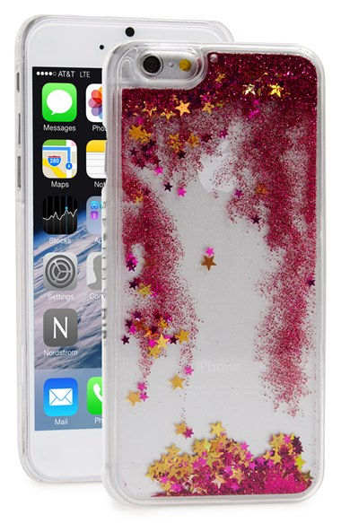 SKINNY DIP Skinnydip Glitter Liquid iPhone 6 & 6s Case