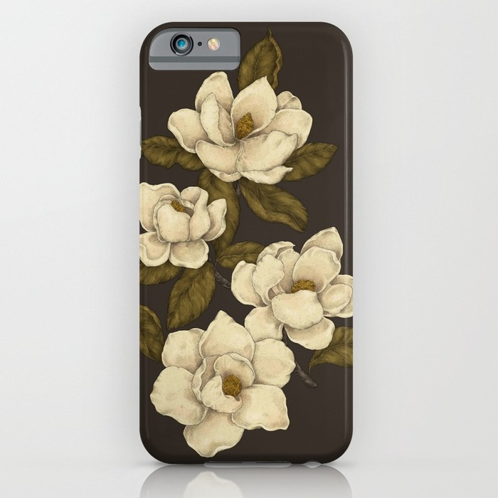 IPHONE 6 SLIM CASE - Magnolias