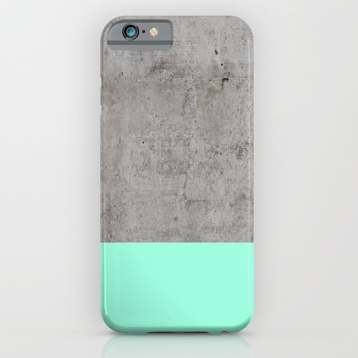IPHONE 6 SLIM CASE - Sea on Concrete