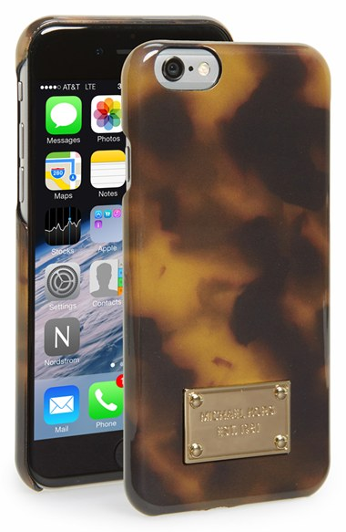 MICHAEL Michael Kors Tortoiseshell iPhone 6 & 6s Case