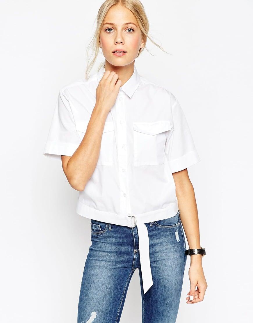 ASOS D-ring Detail Shirt — $27.37