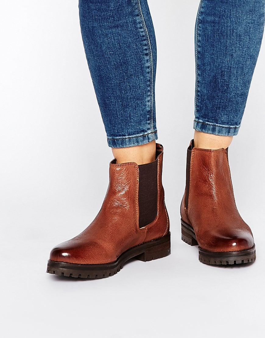Rule London Chunky Leather Chelsea Boots — $95.80