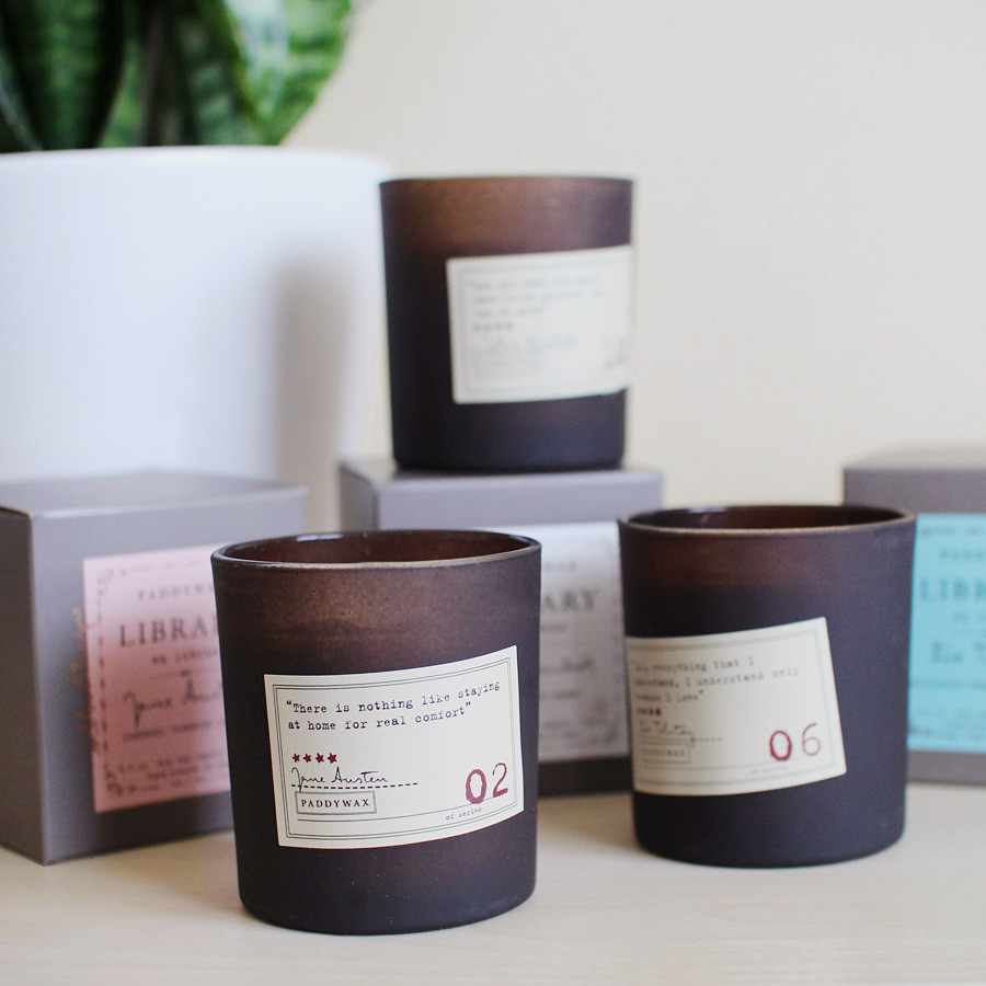 Library Candles — $21