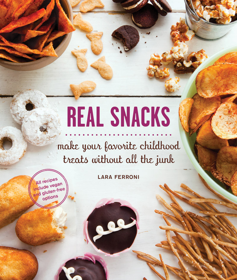 real snacks by lara ferroni — $20.00