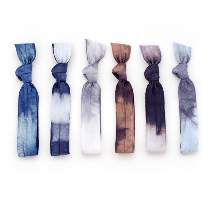 cloudburst hair ties