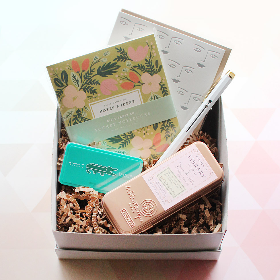 gift box no. 7 (for the journaler