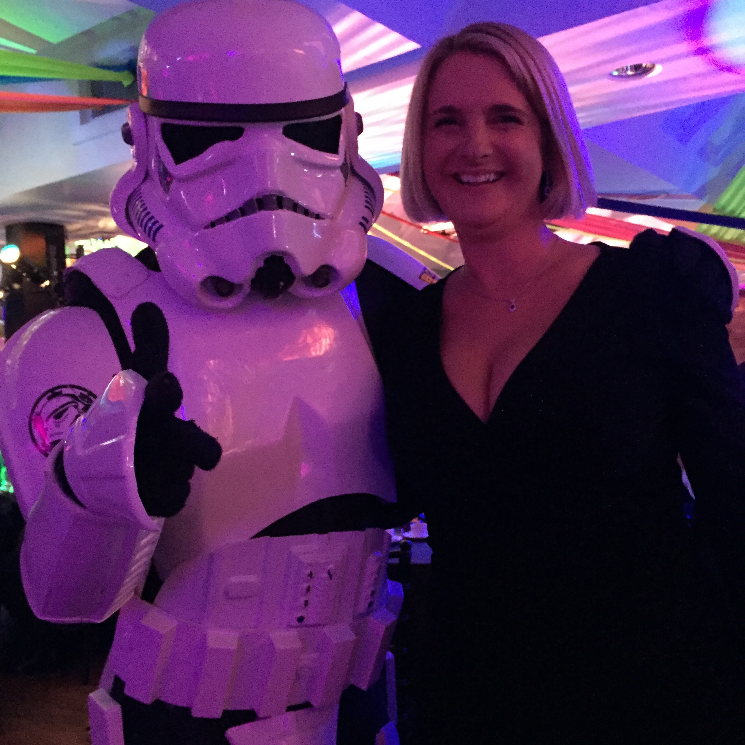 The entertainment at the do this year were the dancing Storm Troopers from Britains got talent, they were absolutely fabulous, staying on long after their set had finished to dance with the guests and have photos.
