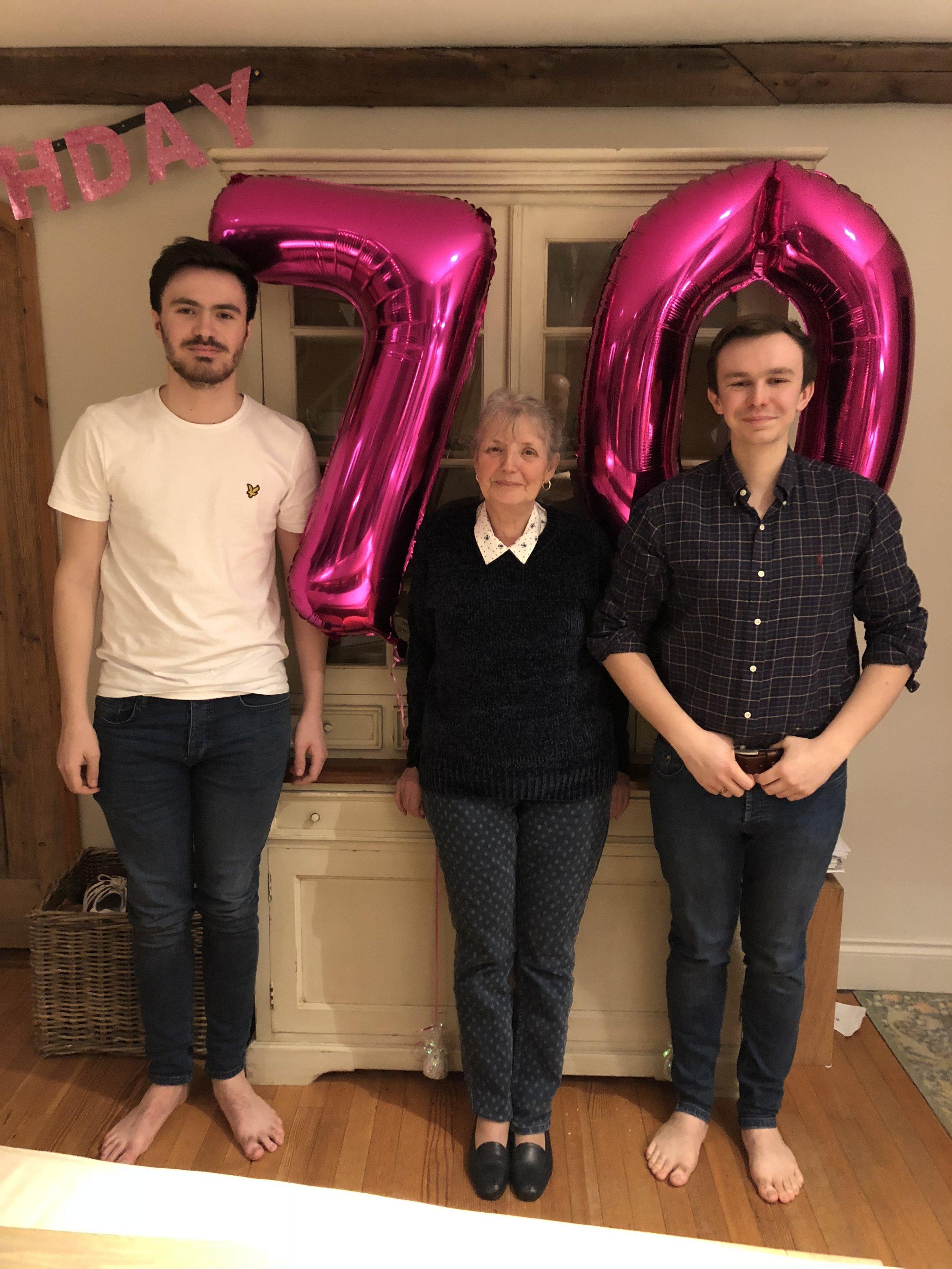 Wishing my mum the happiest of happy birthdays for next month...