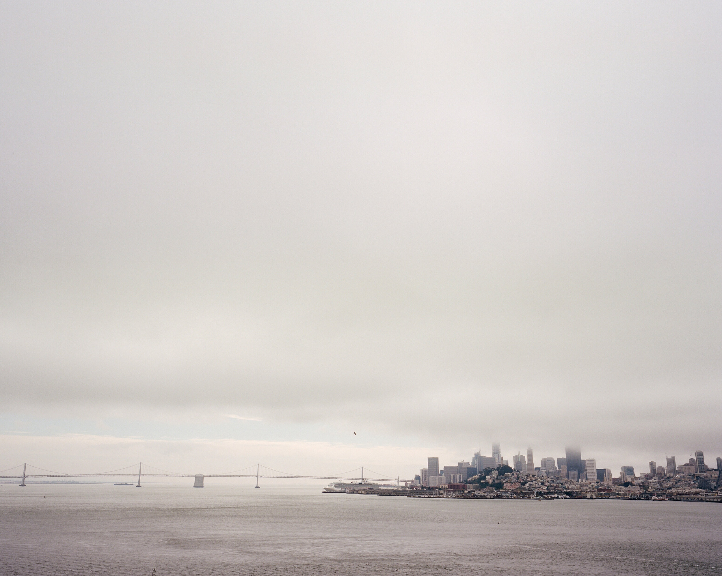 Frame 3   The Bay Bridge leading into San Francisco