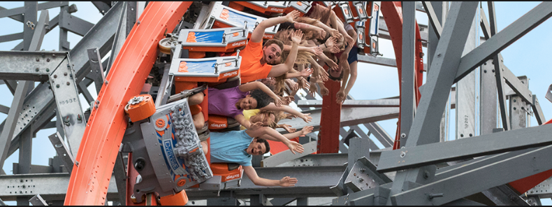 Thursday: Six Flags ($50) - We travel to Six Flags New England for the day!