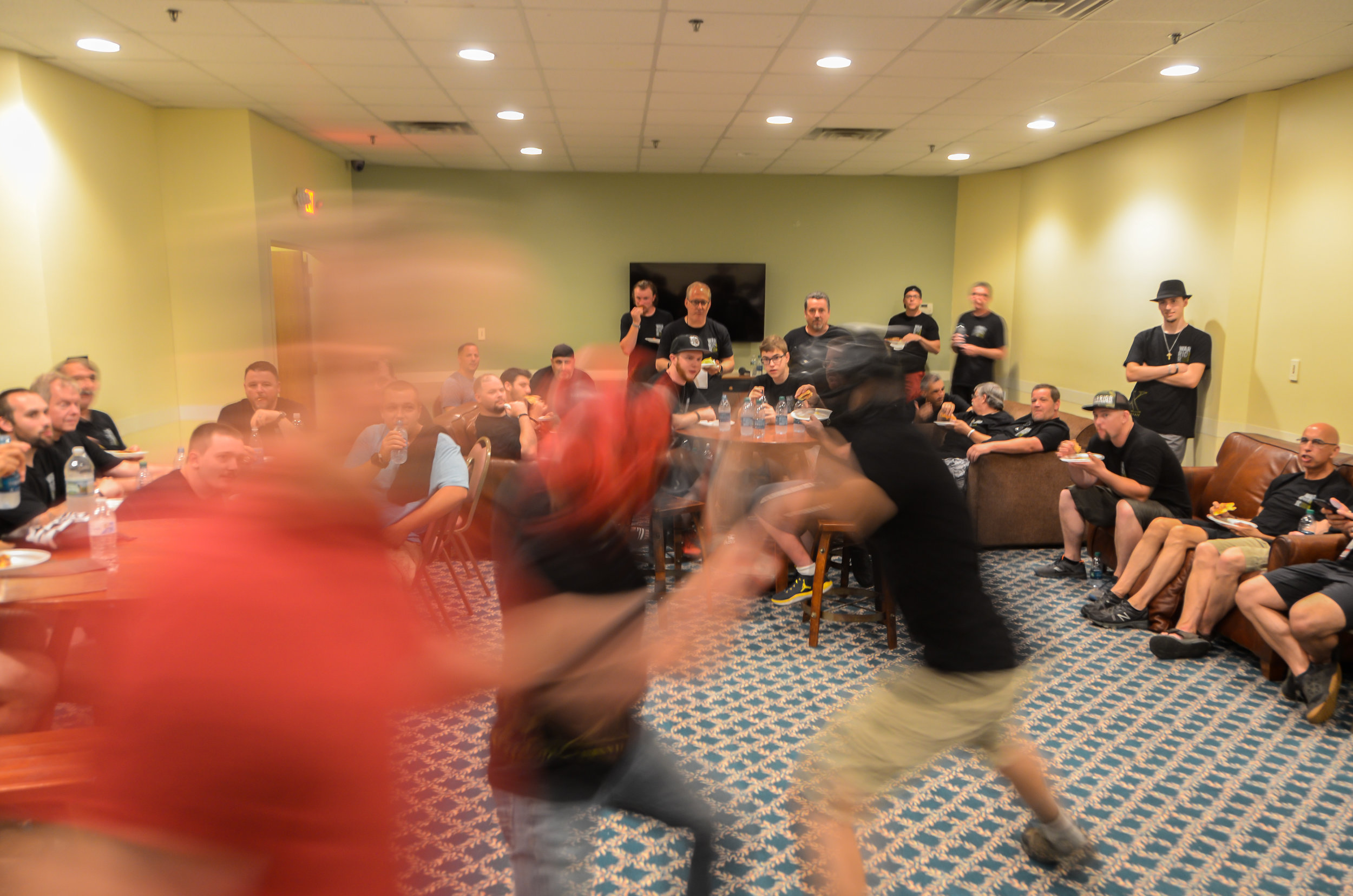 What happens at Warrior Conference stays at Warrior Conference