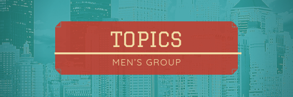Each week this group will explore topics that many men are dealing with. Anger, trust, faith, fear, lust……all topics that men can discuss under the umbrella of God's teachings. True, authentic conversations. Join this group each Friday morning 6:45AM in the LP Cafe (lower building).  Patrick Ringrose and Marcel Farrington