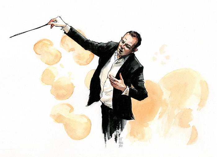 A piece for the Philadelphia Orchestra celebrating the arrival of new conductor Yannick Nézet-Séguin.
