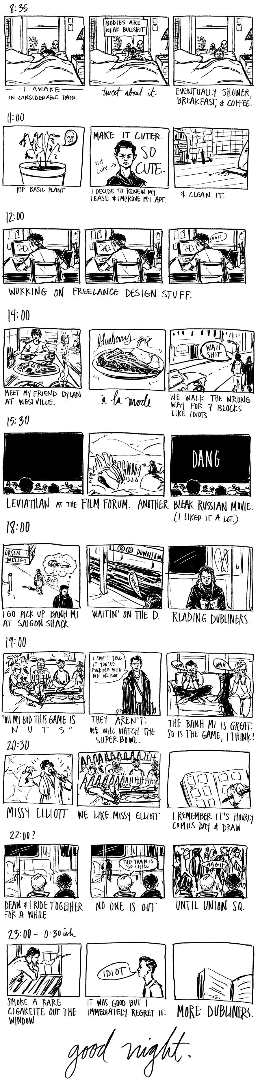 Hourly Comics Day 2015