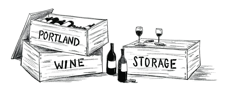 portland wine storage