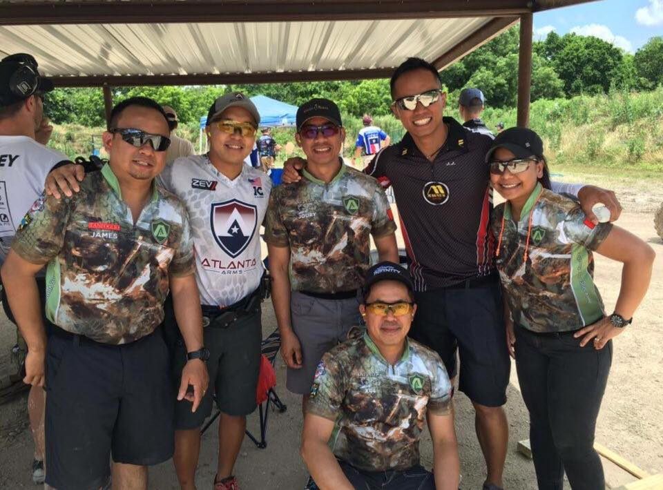 A-Hits Shooters with KC Eusebio and JJ Racaza (overall 1st and 2nd respectively)... Congratulations!!!!