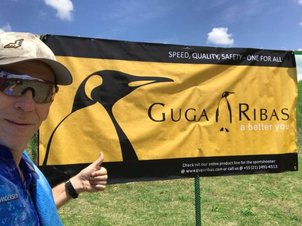 One of the Event Sponsors, Guga Ribas Company ( Inset: Icarus Team (Denmark) Peter Munk Andersen