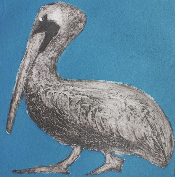 Pelican Collagraph Unframed £95
