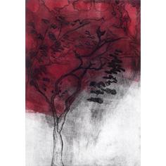 Autumn Tree Drypoint Unframed £55