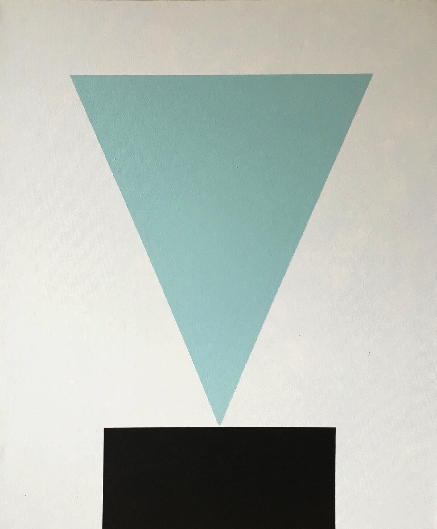 Minimal 12, 60 cm x 50 x 4 cm, Acryl auf Leinwand, Ute Latzke, 2016, 500,- Euro.