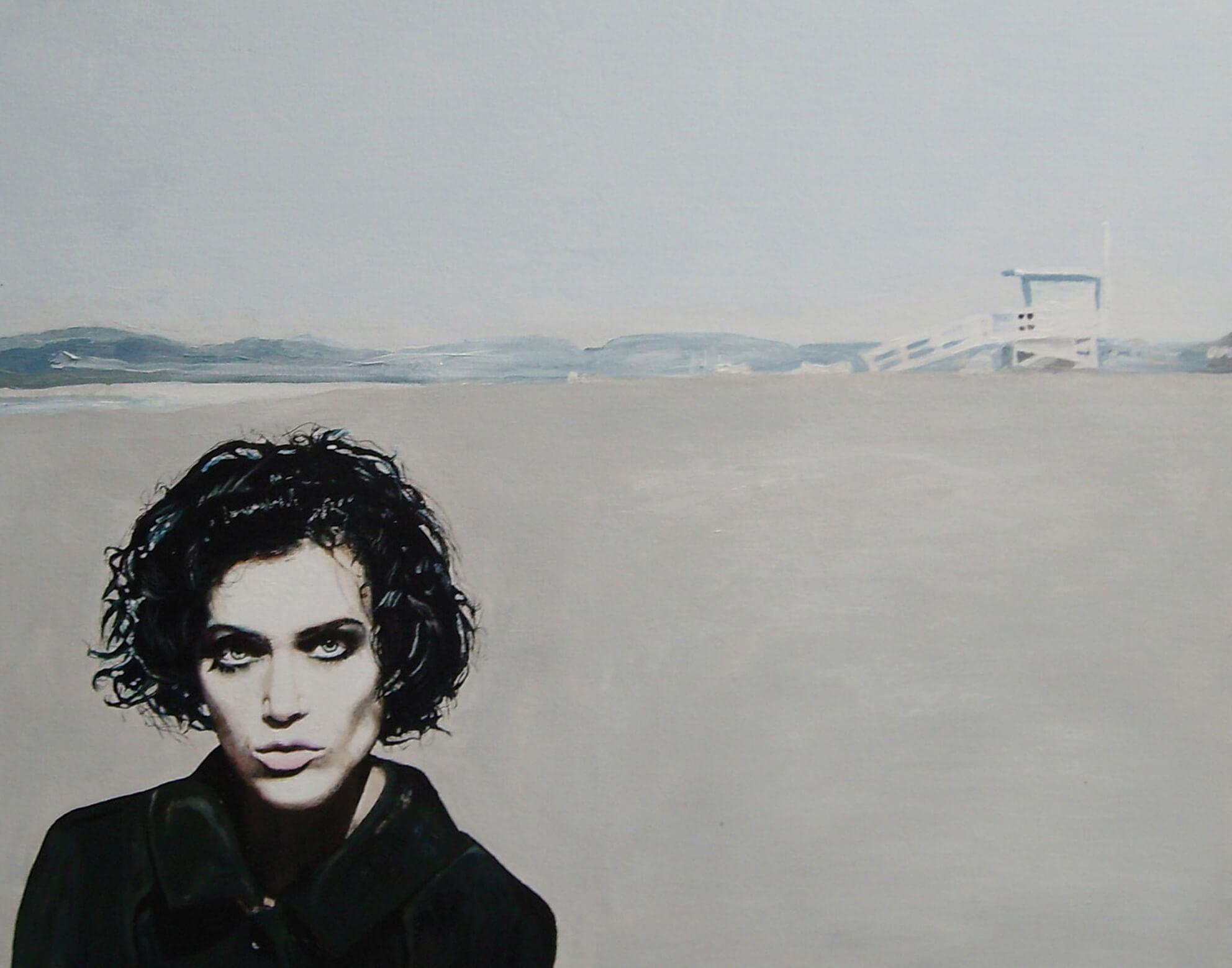 Lucinda van Beethoven is colorblind, Acryl auf Leinwand, © Ute Latzke
