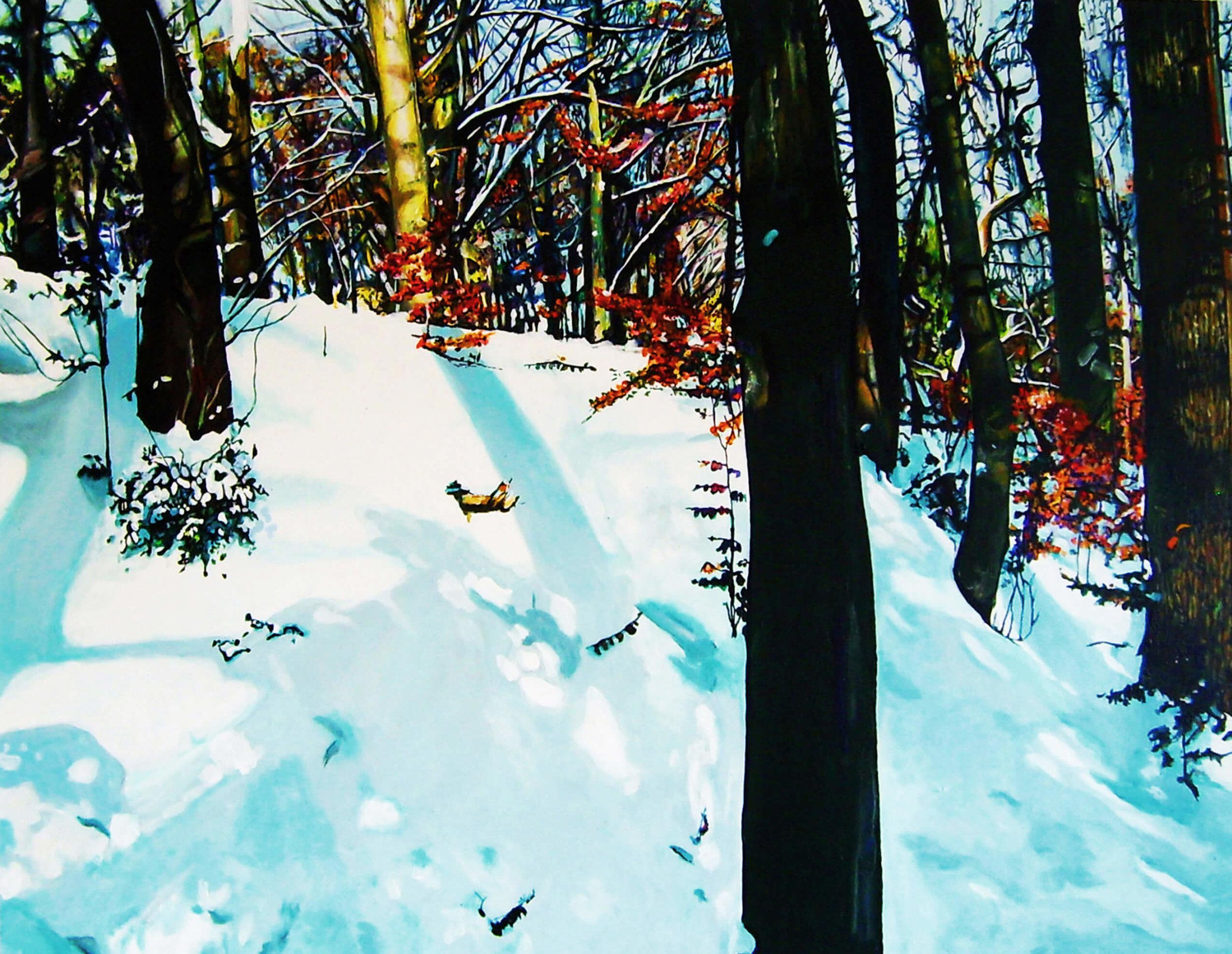 Frozen, Acryl auf Leinwand, 70x90 cm 2010, 1400 Euro