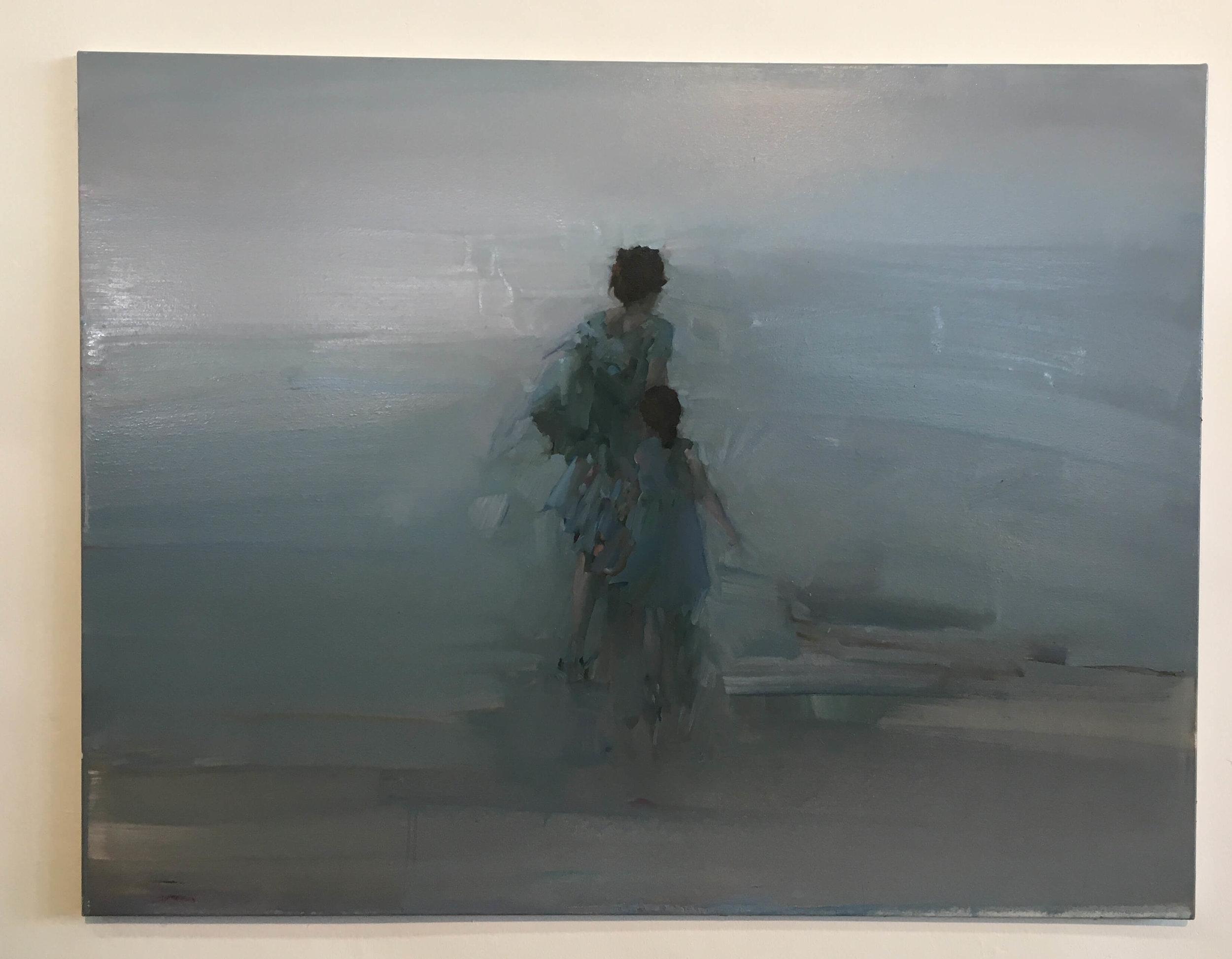 Radoslava Markova, Öl auf Leinwand, Foto: U. Latzke