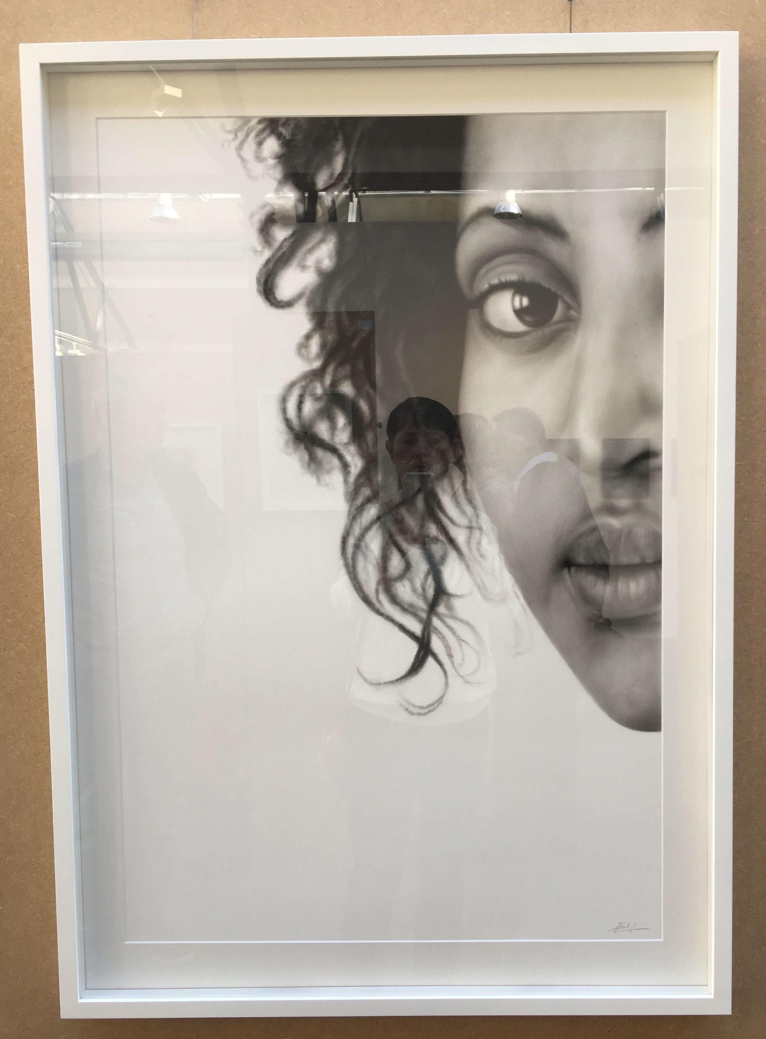 Jana Geilhof, Encounters, Öl auf Papier, Foto: U. Latzke