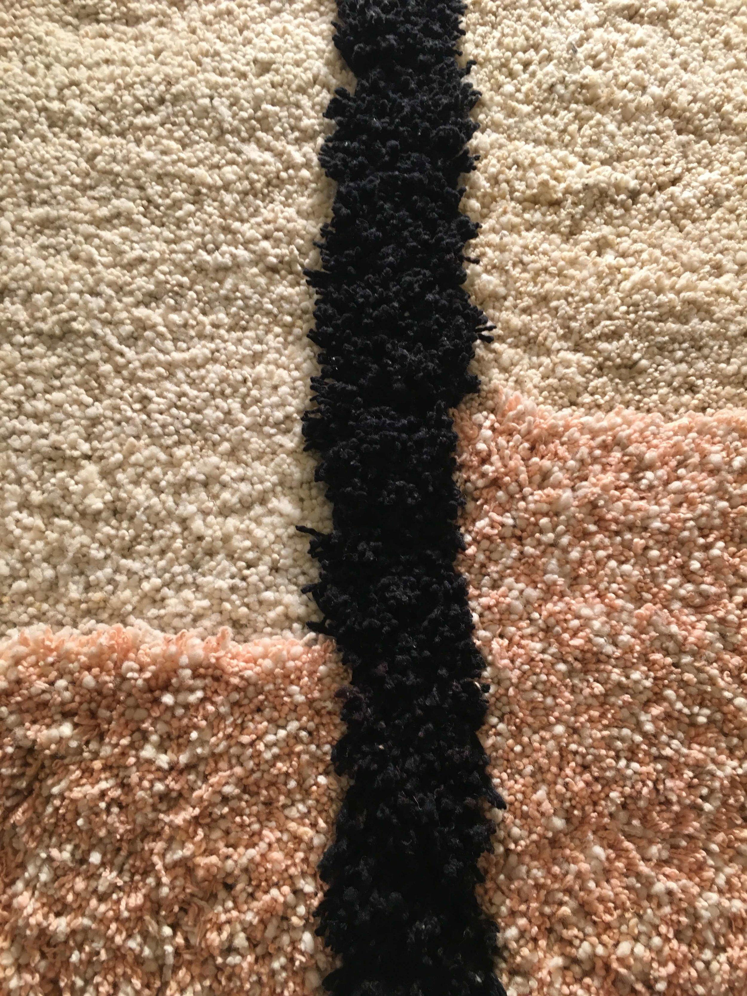 Detail Teppich von Vibrant Living, Foto: U. Latzke