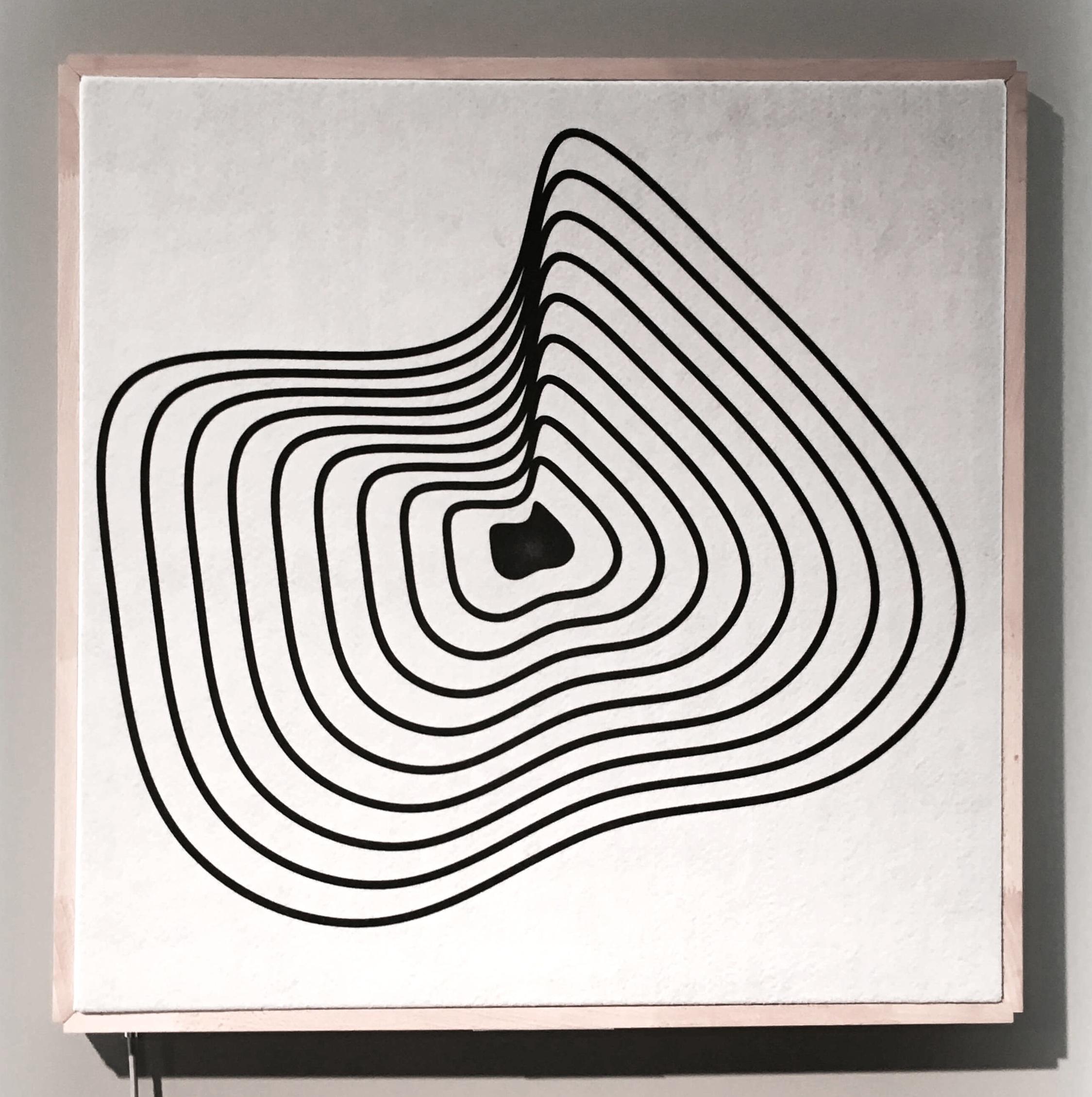 Onda, luftreinigendes und dekoratives Textil, Pure Talent Joca van der Horst.