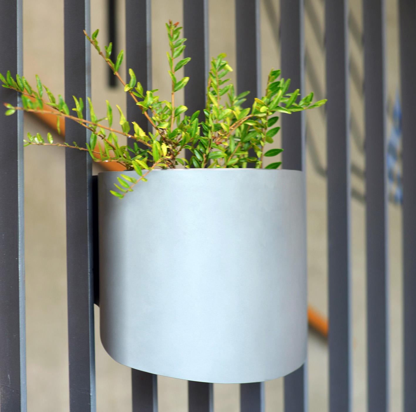 Pflanzencontainer von Carl Krämer, Foto: Zeichenakademie