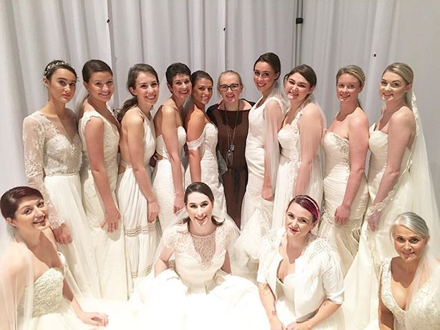 These gals KILLED IT on the runway for @heidielnora yesterday at our 8th annual #SouthernBridalFaire.
